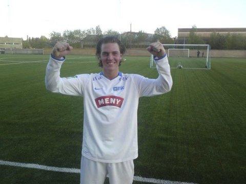 Nikola Gresko skjøt Drammen Fotballklubb videre i cupen etter ekstraomganger i Larvik.