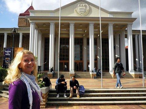 Drøbakjenta Elin Tandberg hadde sett for seg Sør-Afrika som en jungel. –Men Cape Town er jo en stor by som har alt!