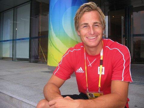 Frode Bovim er med i OL for andre gang. foto eli halvorsen