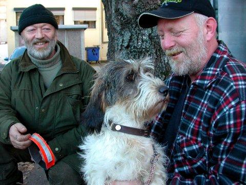 Arnefinn Kleven er 99,9 prosent sikker på at han så en ulv på Fevang tirsdag morgen.