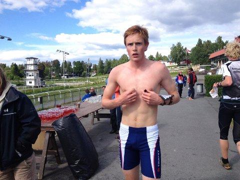 Borger Melsom fra Fossum glemte en post på NM-sprinten og ble disket.