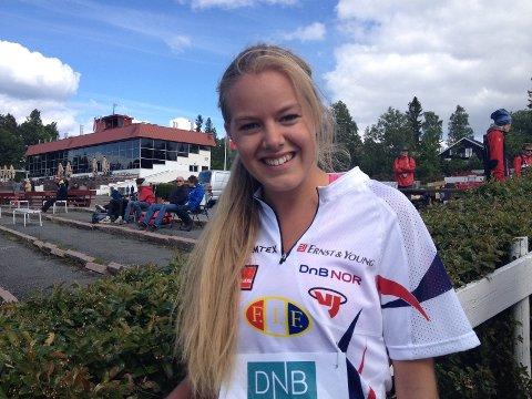 Camilla Hengebøl fra Fossum tok NM-bronse.
