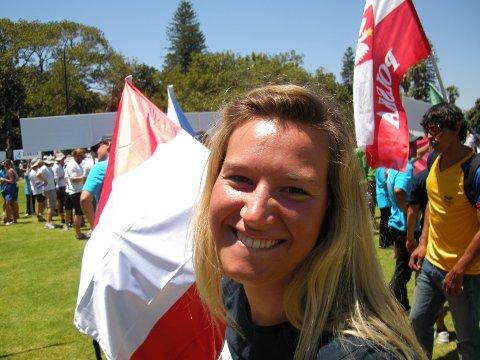 Seileren Marthe Enger Eide er tatt ut til OL i London.