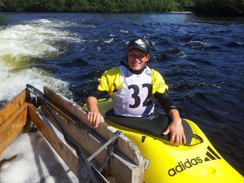 – Jeg er kjempefornøyd med NM-gullet, sier Jonny Haugen (23).