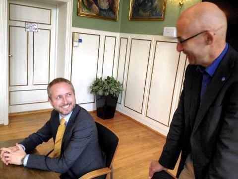 Miljøvernminister Solhjell har ikke mer enn 18 millioner kroner med til UMB på neste års statsbudsjett. MMS: Bjørn Sandness