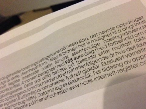 Denne type brev kan du bare kaste, sier økokrim.
