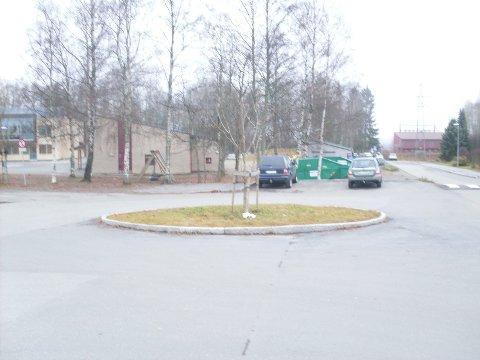 Rundkjøringa ved Finstad skole