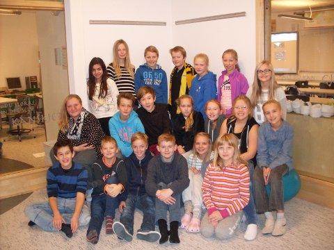 Klasse 6A ved Finstad skole