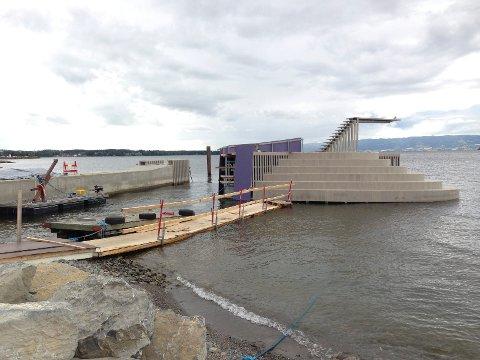 FEIL RÅD: Sweco og Hamar kommune er blitt enige om en erstatning på 6,4 millioner kroner for feil råd i forbindelse med stupeanlegget på Koigen.
