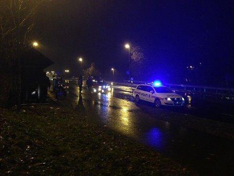PÅKJØRSEL: Det var 3 november en 17 år gammel jente på påkjørt i forgjengerfeltet på Drengsrud. FOTO: HANNE WIEN