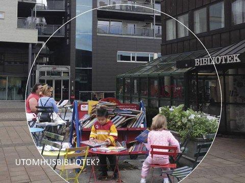 Bruke gata: Flere aktiviteter ute i gata, foreslår ekspertene. Illustrasjon: Gehl Arkitekter