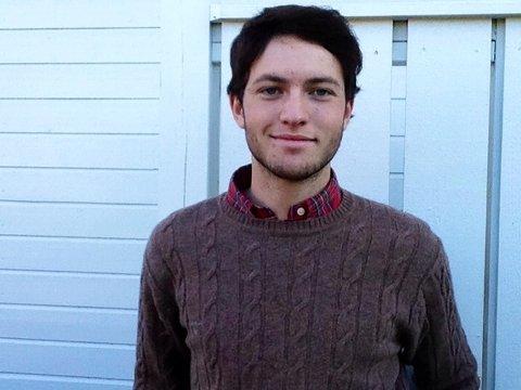 Stian Hagen (17) blir Orkla-sjef Peter A. Ruzickas «skygge».