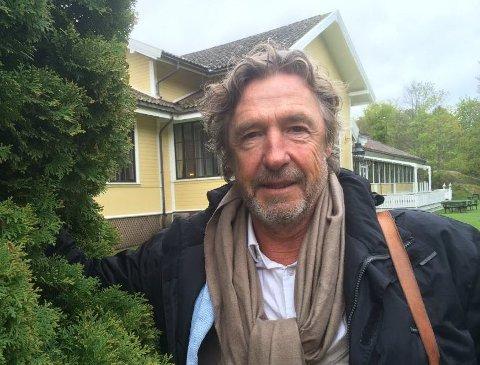 Bjørn Skagestad ble presentert som en av skuespillerene som skal være med i musikalen på Hankø i sommer.