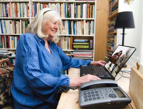 @- Bilde.tekst:NRK-veteran: Kari Bay Haugen har gledet norske radiolyttere og tv-seere i 40 år.