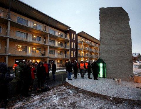 Enkel og tydelig: Steinar Christensen er kunstneren bak «Det norske Hus». foto: espen vinje