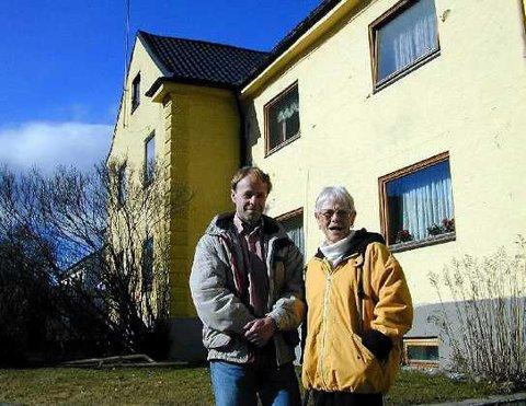 <b>Drammens Jerusalem.</b> Frode Alm og Mary Sæther Alm stortrives i Øren Hageby. (Foto: Tore Shetelig).