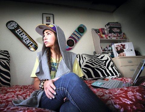 Madeleine Pedersen (19) fra Moss startet sin bloggkarriere i 2010