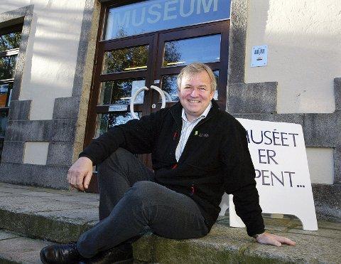 Museumsdirektør Mads Ramstad i Haugalandsmuseet.