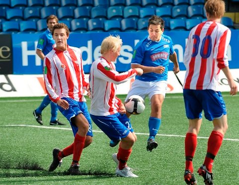 Thorleif Molvær og Drammen FK tapte bunnkampen mot Fana.