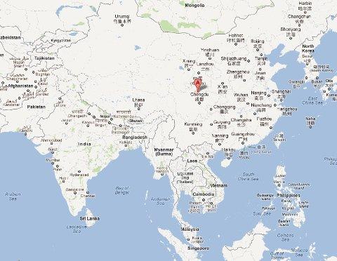 Terje Kolbjørnsen befinner seg nå i byen Songpan i Sichuan-regionen, Kina.