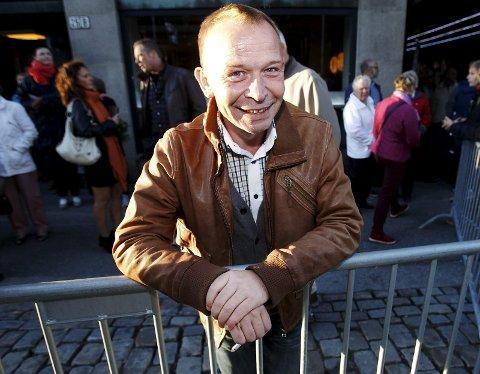 Spent: Brede Bøe gledet seg til å få et gjensyn med det tyske masketeatret «Familie Flöz», som sto på kveldens program.