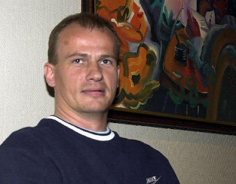 <b>Ambisiøs.</b> Jarle Finnestrand har store planer for Åskollen. Foto: MAGNE J. NILSEN