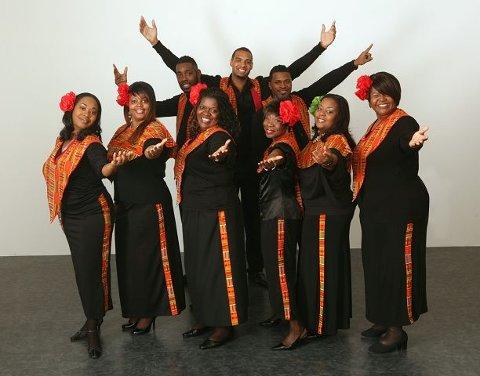 Harlem Gospel Choire har konsert i Kolben kulturhus lørdag 11. desember.