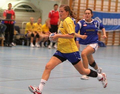 Toppscorer: Rikke Alræk ble toppscorer med ti mål.