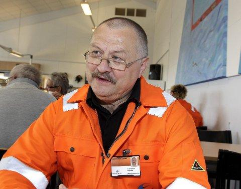 ÅPEN LINJE: Paul Engseth synes det er viktig at bedriften viser fram hva som skjer på fabrikkområdet.