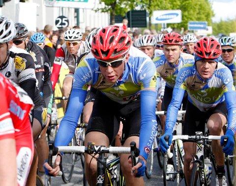 Vegard Stake Laengen blir å finne i en annen drakt enn Team Type 1 neste sesong. Her fra Glava Tour of Norway i Drammen 17. mai.