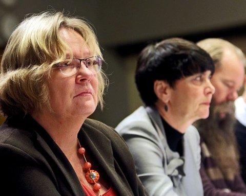 May Hansen (SV) og Irene Johansen (Ap) var under gårsdagens bystyremøte flere ganger på talerstolen for å prøve å unngå et kutt i støtten til Punkt Ø.