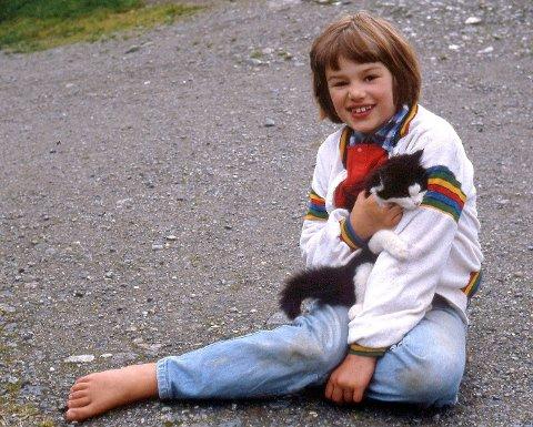 KATTEMENNESKE: Tippy, min første katt.