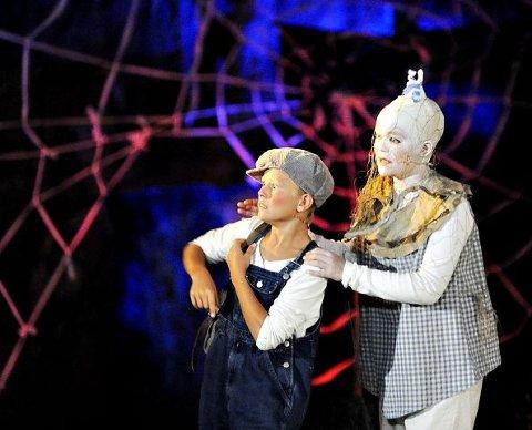 SkummeltUnggutten har også hatt hovedrollen i Spooki. Foto: Erik Hagen
