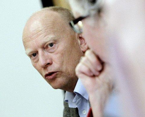 VIL UT: Rådmann Ivar Nævra i Rygge vil ut før regningen blir enda høyere.Foto:  Terje Holm