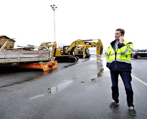 FÅR PROBLEMER: Assisterende havnedirektør Ivar A. Vannebo mener problemene på Holmenbrua gir havna en betydelig utfordring.