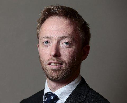 John-Ragnar Aarset, statssekretær.