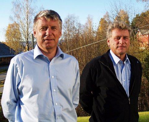 Jan Erik og Truls Torgersen er blant de som er høyt opp på formuetoppen i Krødsherad.