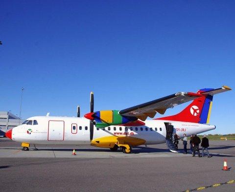 DAT legger ned flyruten mellom Rygge og Trondheim.