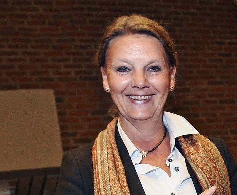 Høyre gjør et solid byks i ny meningsmåling. Ingjerd Schou (H) er partiets toppkandidat fram mot 2013. - Dette er en hyggelig oppmuntring på veien mot valget i september neste år, sier hun.