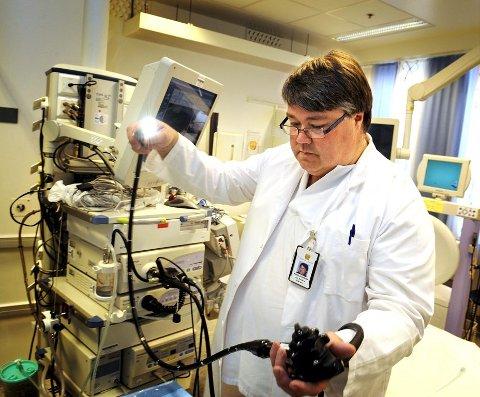 SVIKT: Avdelingssjef Jon Anders Takvam innrømmer at SiV har sviktet denne pasienten ved ikke å kalle ham inn til ny undersøkelse.
