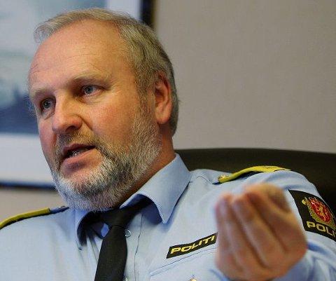 Politimester Torodd Veiding er nå dialog med Bærum kommune om å finne et fast tilholdssted for russen. FOTO: KARL BRAANAAS