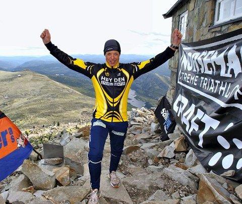 rutinert ledsager Rune Holtze Jensen har fullført Norseman X-treme Triathlon tre ganger før. foto fred artur asdal