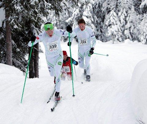 Det holdt ikke helt inn for Asker-løperen Christoffer Callesen i årets Vester-gyllen, og endte på en andreplass 48 sekunder bak vinneren. Her går han bak Anders Mølmen Høst som tok førsteplassen.