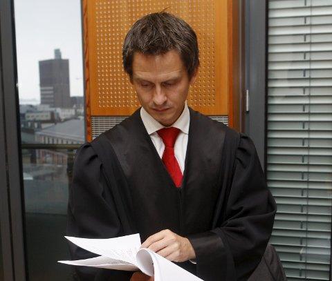 Espen Wangberg forsvarer en av de siktede, som erkjenner delvis straffskyld.