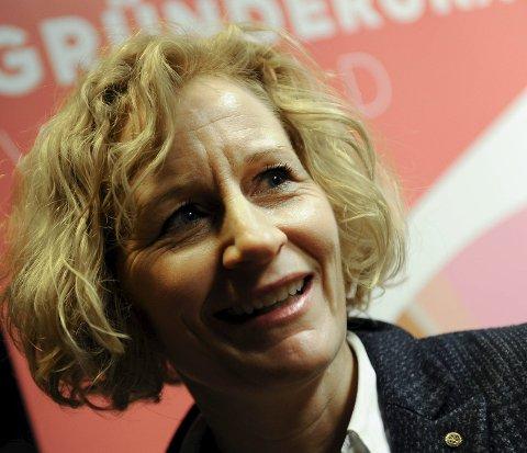 Fornøyd: Anne Grethe Bakken, leder av START i Vestfold.