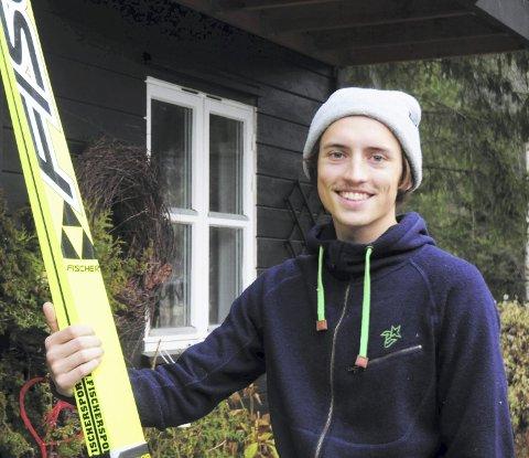 BEDRE ENN I FJOR: Sigurd Nymoen Søberg gleder seg til å komme i gang med vintersesongen. Kanskje kommer gjennombruddet allerede på Lillehammer.Foto: Knut Erik Landgraff