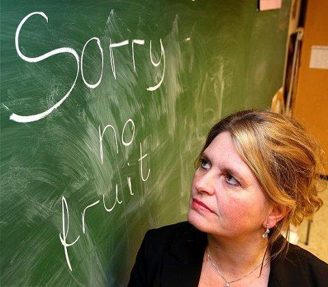 Sektorutvalgsleder for barn og unge i Bærum kommune, Anne Lene Hojem (H), sier det er viktig at kommunen satser på rådgivning for å få flere søkere til førskolelærer. FOTO: KARL BRAANAAS