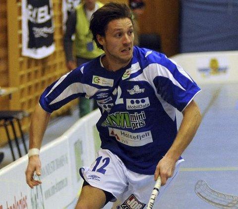 Jesper Gøransson og NOR 92 spiller første NM-kvartfinale mot Tunet i Solberghallen i kveld.