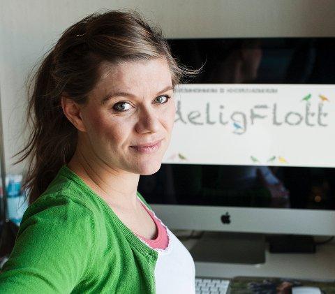 Julie Haugland Ormvold er damen bak bloggen NydeligFlott.