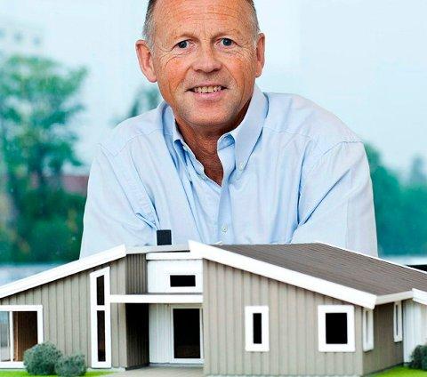 PÅ TOPP: Morten Bjerke fra Hvalstad, sjef i Mestergruppen kan notere seg for 2.000 nye Mesterhus og Systemhus i fjor. FOTO: PRIVAT